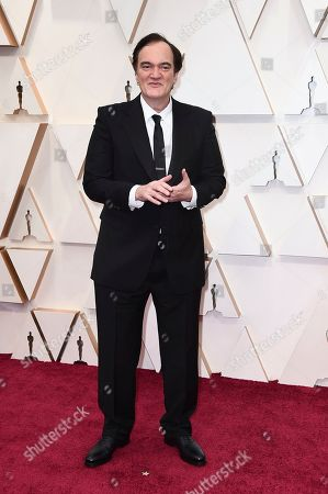 Quentin Tarantino arrives at the Oscars, at the Dolby Theatre in Los Angeles
