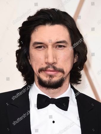 Adam Driver arrives at the Oscars, at the Dolby Theatre in Los Angeles