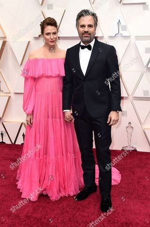 Sunrise Coigney, Mark Ruffalo. Sunrise Coigney, left, and Mark Ruffalo arrive at the Oscars, at the Dolby Theatre in Los Angeles