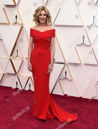 Christine Lahti arrives at the Oscars, at the Dolby Theatre in Los Angeles