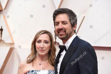 Anna Romano, Ray Romano. Anna Romano, left, and Ray Romano arrive at the Oscars, at the Dolby Theatre in Los Angeles