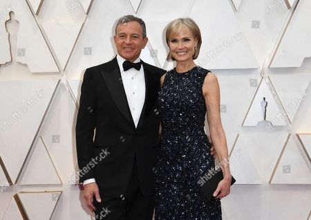 Bob Iger, Willow Bay. Bob Iger, left, and Willow Bay arrive at the Oscars, at the Dolby Theatre in Los Angeles