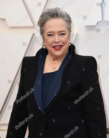Kathy Bates arrives at the Oscars, at the Dolby Theatre in Los Angeles