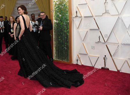 Geena Davis arrives at the Oscars, at the Dolby Theatre in Los Angeles