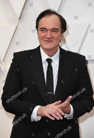 Stock Picture of Quentin Tarantino arrives at the Oscars, at the Dolby Theatre in Los Angeles