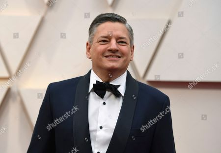 Stock Image of Ted Sarandos arrives at the Oscars, at the Dolby Theatre in Los Angeles