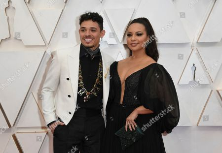 Anthony Ramos, Jasmine Cephas Jones. Anthony Ramos, left, and Jasmine Cephas Jones arrive at the Oscars, at the Dolby Theatre in Los Angeles