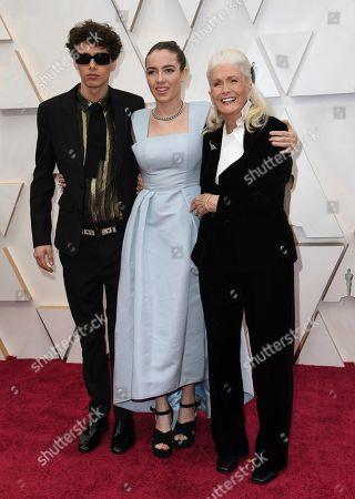 Ellery Harper, Jaya Harper, Diane Ladd. Ellery Harper, from left, Jaya Harper, and Diane Ladd arrive at the Oscars, at the Dolby Theatre in Los Angeles