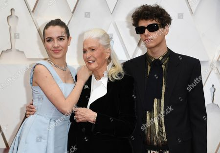 Ellery Harper, Jaya Harper, Diane Ladd. Jaya Harper, from left, Diane Ladd, and Ellery Harper arrive at the Oscars, at the Dolby Theatre in Los Angeles