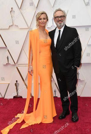 Allison Balsom, Sam Mendes. Allison Balsom, left, and Sam Mendes arrive at the Oscars, at the Dolby Theatre in Los Angeles
