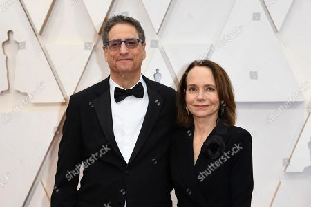 Stock Picture of Thomas Rothman, Jessica Harper. Thomas Rothman, Chairman of Sony Pictures Entertainment, left, and Jessica Harper arrive at the Oscars, at the Dolby Theatre in Los Angeles