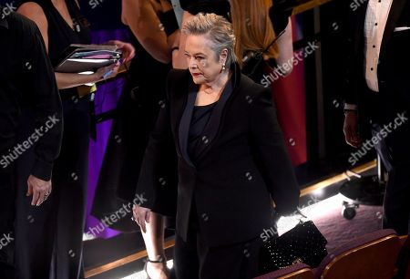 Stock Picture of Kathy Bates attends the Oscars, at the Dolby Theatre in Los Angeles