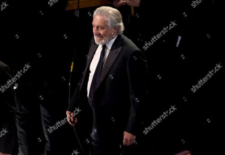 Robert De Niro attends the Oscars, at the Dolby Theatre in Los Angeles