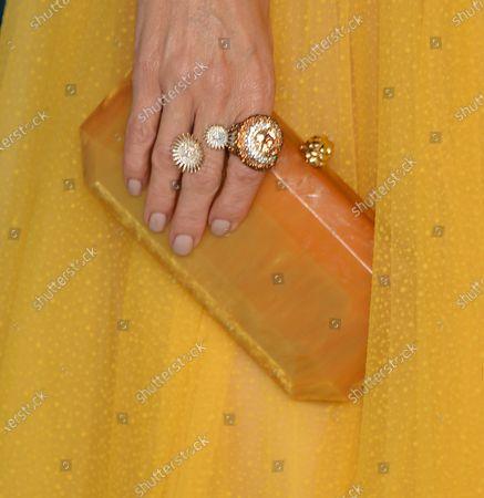 Catt Sadler, bag detail, jewellery detail