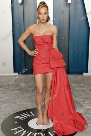 Editorial image of Vanity Fair Oscar Party, Arrivals, Los Angeles, USA - 09 Feb 2020