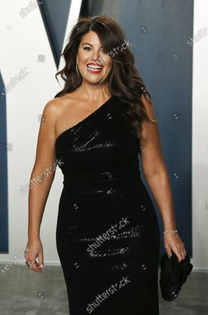 Monica Lewinsky attends the 2020 Vanity Fair Oscar Party following the 92nd annual Academy Awards ceremony, in Beverly Hills, California, USA, 09 February 2020. The Oscars are presented for outstanding individual or collective efforts in filmmaking in 24 categories.