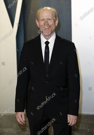 Ron Howard attends the 2020 Vanity Fair Oscar Party following the 92nd annual Academy Awards ceremony, in Beverly Hills, California, USA, 09 February 2020. The Oscars are presented for outstanding individual or collective efforts in filmmaking in 24 categories.