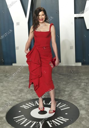 Kathryn Hahn attends the 2020 Vanity Fair Oscar Party following the 92nd annual Academy Awards ceremony, in Beverly Hills, California, USA, 09 February 2020. The Oscars are presented for outstanding individual or collective efforts in filmmaking in 24 categories.