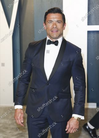 Mark Consuelos attends the 2020 Vanity Fair Oscar Party following the 92nd annual Academy Awards ceremony, in Beverly Hills, California, USA, 09 February 2020. The Oscars are presented for outstanding individual or collective efforts in filmmaking in 24 categories.