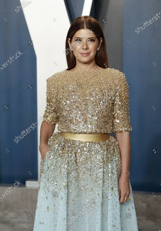 Marisa Tomei attends the 2020 Vanity Fair Oscar Party following the 92nd annual Academy Awards ceremony, in Beverly Hills, California, USA, 09 February 2020. The Oscars are presented for outstanding individual or collective efforts in filmmaking in 24 categories.