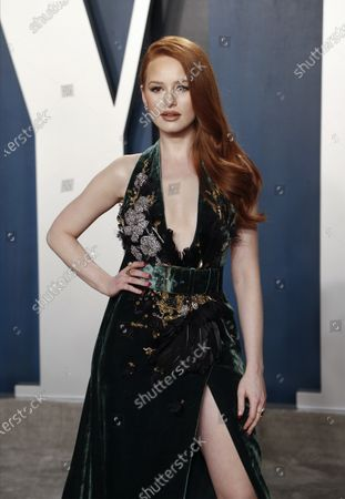 Madelaine Petsch attends the 2020 Vanity Fair Oscar Party following the 92nd annual Academy Awards ceremony, in Beverly Hills, California, USA, 09 February 2020. The Oscars are presented for outstanding individual or collective efforts in filmmaking in 24 categories.