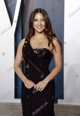 Olivia Munn attends the 2020 Vanity Fair Oscar Party following the 92nd annual Academy Awards ceremony, in Beverly Hills, California, USA, 09 February 2020. The Oscars were presented for outstanding individual or collective efforts in filmmaking in 24 categories.