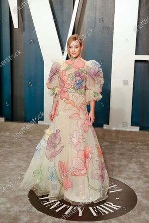 Lili Reinhart attends the 2020 Vanity Fair Oscar Party following the 92nd annual Academy Awards ceremony in Beverly Hills, California, USA, 09 February 2020. The Oscars were presented for outstanding individual or collective efforts in filmmaking in 24 categories.