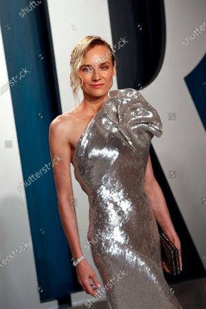 Diane Kruger attends the 2020 Vanity Fair Oscar Party following the 92nd annual Academy Awards ceremony, in Beverly Hills, California, USA, 09 February 2020. The Oscars were presented for outstanding individual or collective efforts in filmmaking in 24 categories.