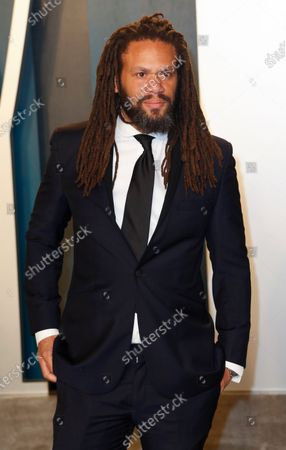 Franklin Leonard attends the 2020 Vanity Fair Oscar Party following the 92nd annual Academy Awards ceremony, in Beverly Hills, California, USA, 09 February 2020. The Oscars were presented for outstanding individual or collective efforts in filmmaking in 24 categories.