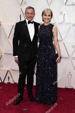 Stock Photo of Bob Iger, Willow Bay. Bob Iger, left, and Willow Bay arrive at the Oscars, at the Dolby Theatre in Los Angeles