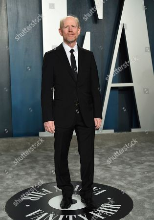 Ron Howard arrives at the Vanity Fair Oscar Party, in Beverly Hills, Calif