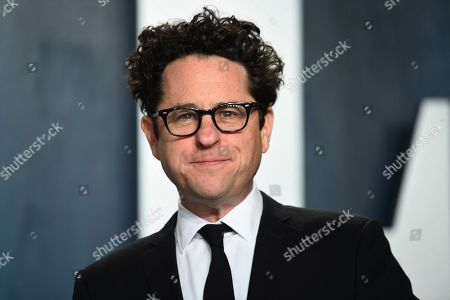 J.J. Abrams arrives at the Vanity Fair Oscar Party, in Beverly Hills, Calif