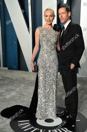 Kate Bosworth, Michael Polish. Kate Bosworth, left, and Michael Polish arrives at the Vanity Fair Oscar Party, in Beverly Hills, Calif