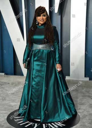 Ava DuVernay arrives at the Vanity Fair Oscar Party, in Beverly Hills, Calif