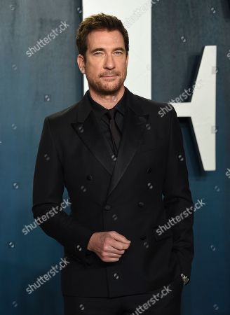 Dylan McDermott arrives at the Vanity Fair Oscar Party, in Beverly Hills, Calif