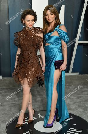 Joey King, Hunter King. Joey King, left, and Hunter King arrive at the Vanity Fair Oscar Party, in Beverly Hills, Calif