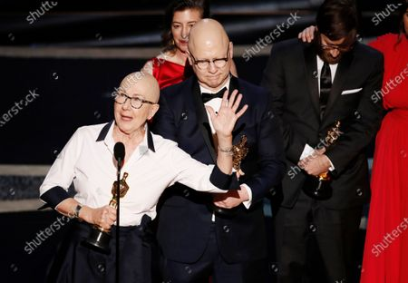 Stock Picture of Julia Reichert (L), Steven Bognar and Julie Parker Benellio (B) accept the Oscar for Best Documentary Feature for 'American Factory' during the 92nd annual Academy Awards ceremony at the Dolby Theatre in Hollywood, California, USA, 09 February 2020. The Oscars are presented for outstanding individual or collective efforts in filmmaking in 24 categories.