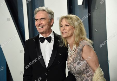 David Steinberg, Robyn Todd. David Steinberg, left, and Robyn Todd arrive at the Vanity Fair Oscar Party, in Beverly Hills, Calif