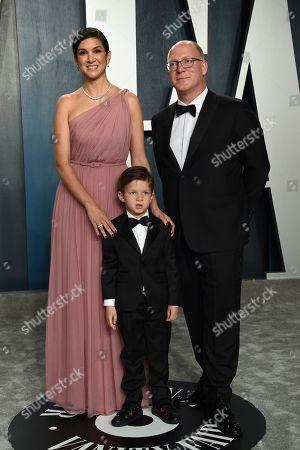 Radhika Jones, Max Petersen. Radhika Jones, left, and Max Petersen arrive at the Vanity Fair Oscar Party, in Beverly Hills, Calif