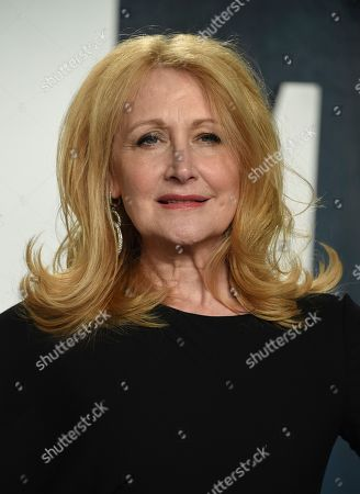 Patricia Clarkson arrives at the Vanity Fair Oscar Party, in Beverly Hills, Calif
