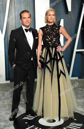 Lachlan Murdoch, Sarah Murdoch. Lachlan Murdoch, left, and Sarah Murdoch arrive at the Vanity Fair Oscar Party, in Beverly Hills, Calif