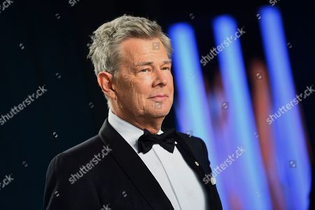 David Foster arrives at the Vanity Fair Oscar Party, in Beverly Hills, Calif