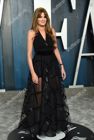 Jemima Goldsmith arrives at the Vanity Fair Oscar Party, in Beverly Hills, Calif