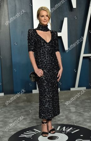 Kelly Sawyer Patricof arrives at the Vanity Fair Oscar Party, in Beverly Hills, Calif