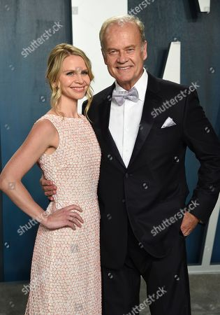 Kayte Walsh, Kelsey Grammer. Kayte Walsh, left, and Kelsey Grammer arrive at the Vanity Fair Oscar Party, in Beverly Hills, Calif