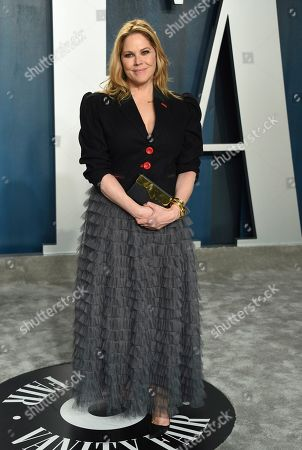 Mary McCormack arrives at the Vanity Fair Oscar Party, in Beverly Hills, Calif