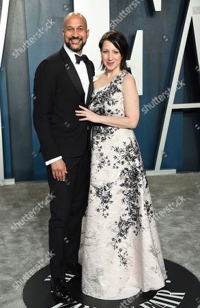 Keegan-Michael Key, Elisa Key. Keegan-Michael Key, left, and Elisa Key arrive at the Vanity Fair Oscar Party, in Beverly Hills, Calif