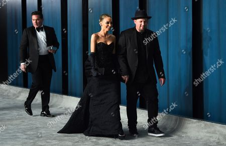 Stock Photo of Joel Madden, Nicole Richie. Joel Madden, left, and Nicole Richie arrive at the Vanity Fair Oscar Party, in Beverly Hills, Calif
