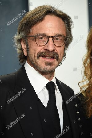 Marc Maron arrives at the Vanity Fair Oscar Party, in Beverly Hills, Calif