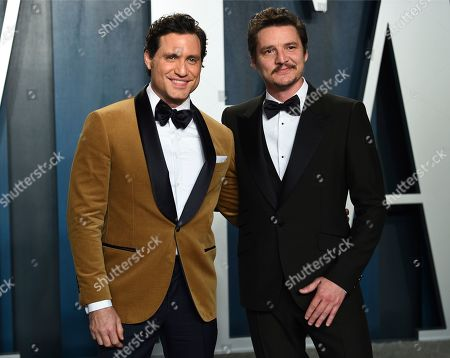 Edgar Ramirez, Pedro Pascal. Edgar Ramirez, left, and Pedro Pascal arrive at the Vanity Fair Oscar Party, in Beverly Hills, Calif